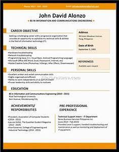 Examples Resumes Sample Resume Basic College Students