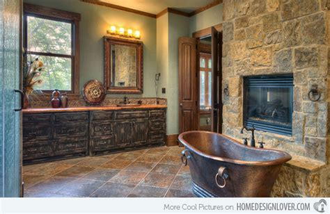 Bathroom Designs Of Rustic Elegance-house Decorators