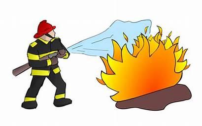 Firefighter Fire Fireman Flames Brannmann Flammer Fighter