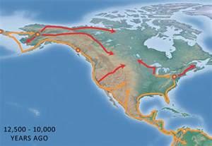 Beringia Land Bridge Migration