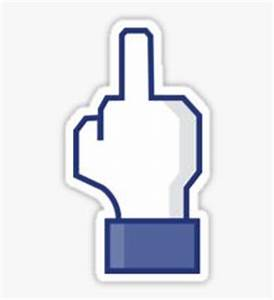 Middle Finger Emoji: Stickers | Redbubble