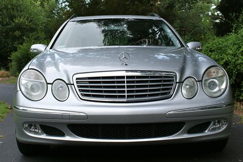 The black on charcoal e class has a mere 60k on her. 2004 Mercedes-Benz E-Class - Pictures - CarGurus