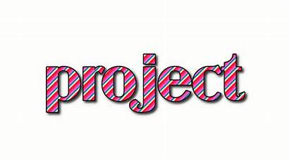 Project Word Logos Text Flaming