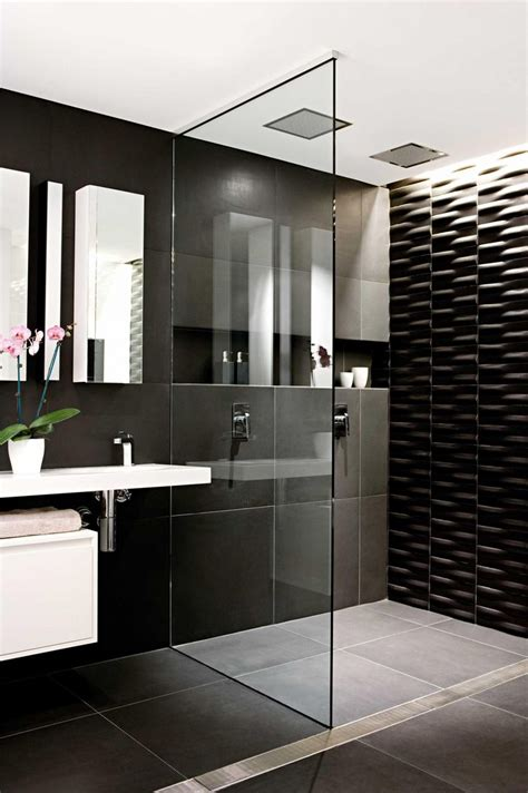 Black Bathrooms Ideas by 34 Classic Black And White Bathroom Design Ideas