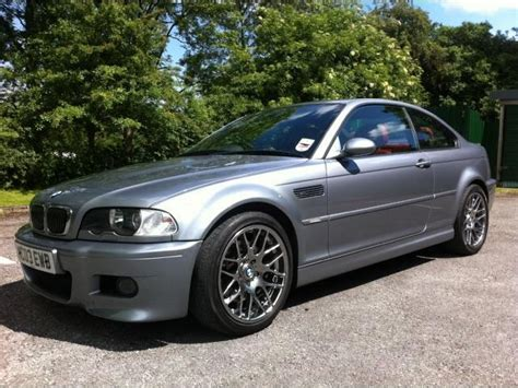 Used Bmw M3 2003 Grey Paint Petrol 2dr 33 Coupe For Sale