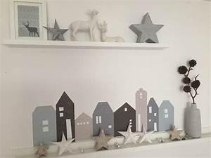 Weihnachtsdeko Basteln Papier : weihnachtsdeko basteln die lille hus im winterlook ~ Lizthompson.info Haus und Dekorationen