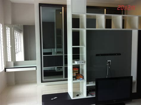 Bedroom Design with TV Wall Panel