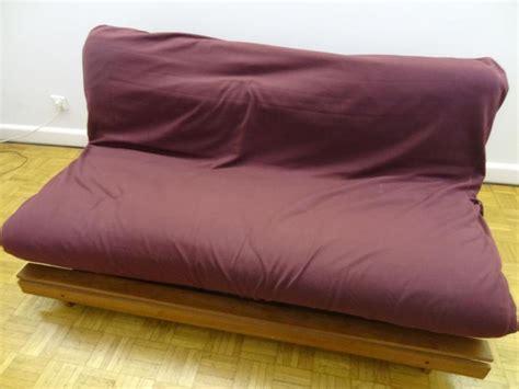 troc canapé troc echange canapé futon convertible bois exotique