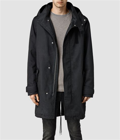 bb vans parka all black parka mens covu clothing