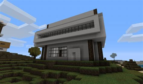 minecraft modern house blueprints modern house designs minecraft project