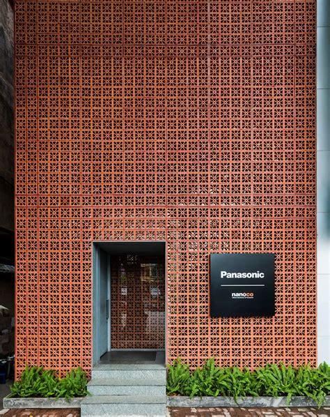 vo trong nghia stacks terracotta brick facade