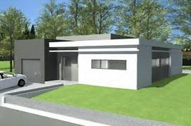 hd wallpapers maison contemporaine plain pied toit plat plan - Photo Maison Contemporaine Plain Pied
