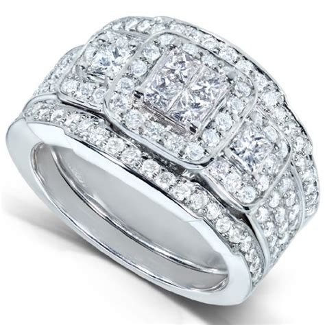 jewelry  sale cheap  ct tw princess diamond