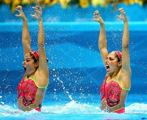 Terrifying Faces of Synchronized Swimming