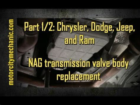 part  chrysler dodge  jeep nag  transmission