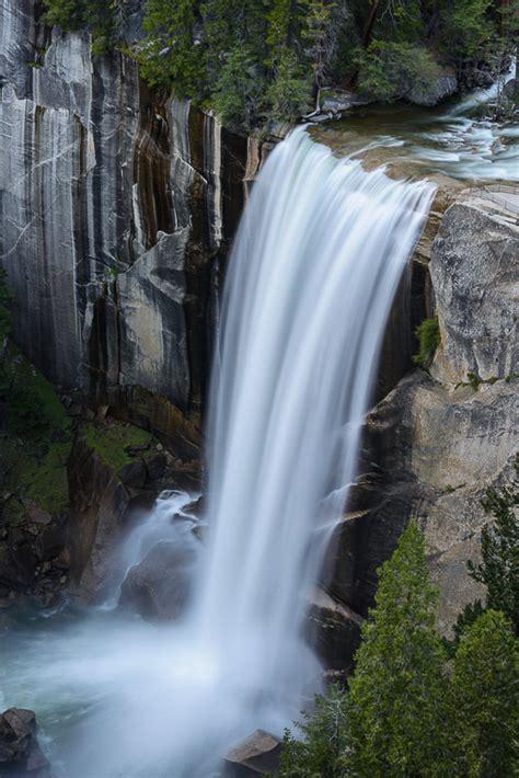 Vernal Fall California United States World Waterfall