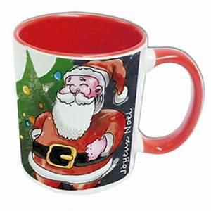 Mug Pere Noel : mug photo rouge p re no l personnaliser mug personnalis ~ Teatrodelosmanantiales.com Idées de Décoration
