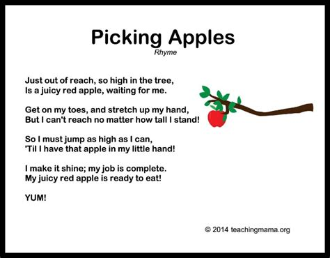 10 autumn songs for preschoolers 893 | Picking Apples