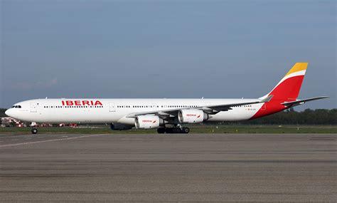 Airbus A340 600 Iberia Photos and description of the plane