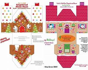 christmas printables for kids christmas houses With activity village christmas templates