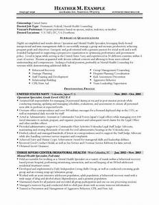 Usajobs resume format learnhowtoloseweightnet for Free government resume templates