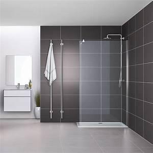 Duschkabine Ohne Wanne : duschabtrennung duschtrennwand duschwand duschkabine dusche glaswand walk in esg 1000x1900x6mm ~ Markanthonyermac.com Haus und Dekorationen