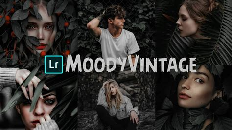 Our collection offers free lightroom presets for photography in raw and jpg formats. Moody Vintage-Lightroom Mobile Tutorial |Lightroom Presets ...