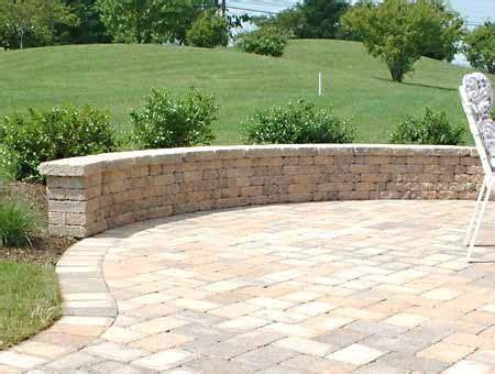 Paver Brick Wall by Paver Patio Designs Parkside Pavers Ta St Pete