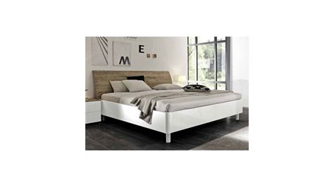 chambre lit blanc lit adulte roma blanc 160cm