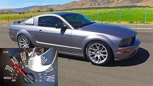 0-60 mph: '07 Ford Mustang GT (Manual w/ Cold Air Intake + Tune) - YouTube