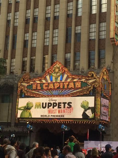 experience  muppets  wanted   el capitan theatre