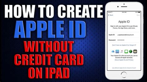 1) open app store and tap your profile photo at the top. How to Create an Apple ID Without Credit Card 2016 on iPad - YouTube