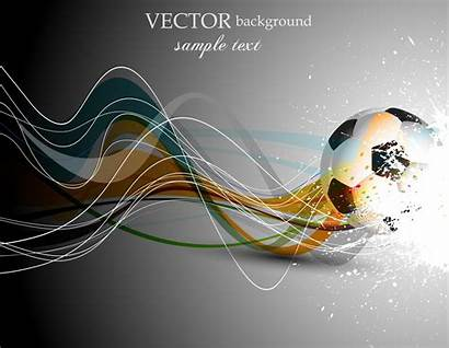Vector Football Soccer Background Abstract Backgrounds Line