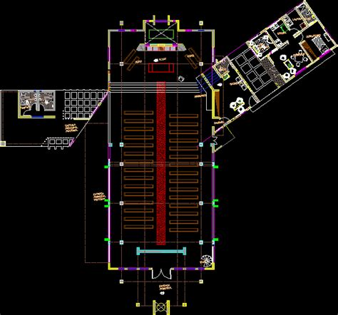 church dwg block  autocad designs cad