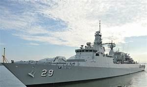 Missile, Frigate, Kd, Jebat, Fire, Malacca, Strait