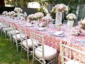 bridesmaid luncheon bridal luncheon american event rentals