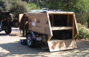 Homemade Off-Road Camper Trailer Teardrop