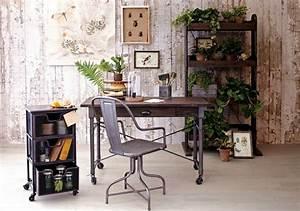 Bureau Style Industriel : bureau maison de style industriel et moderne ~ Teatrodelosmanantiales.com Idées de Décoration