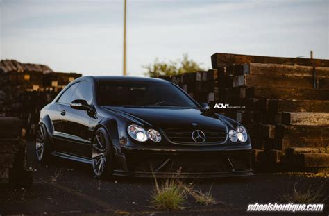 Mercedes Amg Clk 63 Black Series Adv 1 Wheels by Gallery Mercedes Clk63 Black Series On Adv1 Wheels