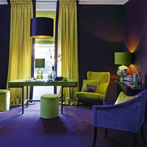 purple and yellow room delicious decor colourful creatures to inspire your home decor
