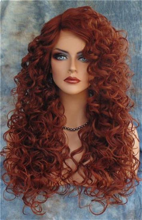red curly wigs hairturners