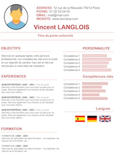 Cv Par Competences Exemples Gratuit by Cv Par Competences Exemples Gratuit Lettre De Motivation