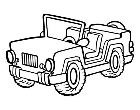 jeep coloring page coloringcrewcom