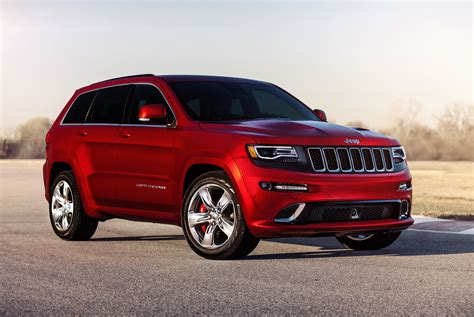 jeep grand cherokee srt red 2015 jeep grand cherokee srt adds 5hp red vapor special