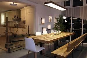 Banc Salle à Manger : table en bois massif haut de gamme en 27 photos ~ Teatrodelosmanantiales.com Idées de Décoration