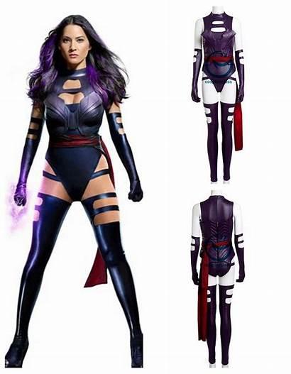 Psylocke Costumes Costume Comic Cosplay Superhero Skimpy