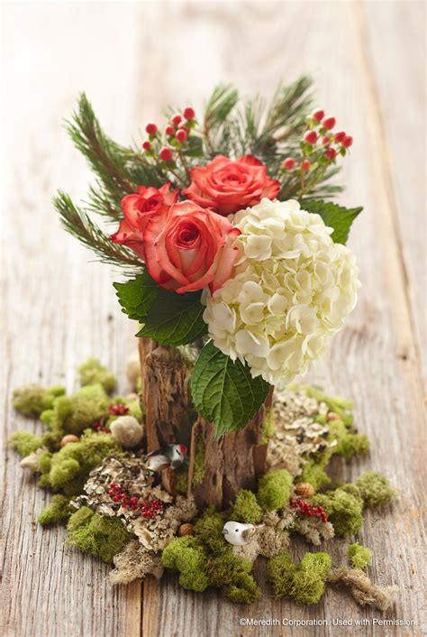 ten unique ways  incorporate floral   holiday