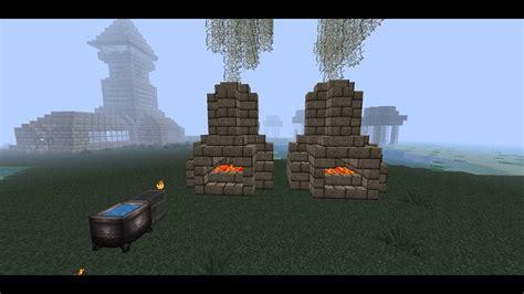 minecraft mini tutorial blacksmith furnace   build  blacksmith furnace youtube