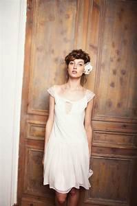 Robe Courte Mariée : robe de mariee courte boheme ~ Melissatoandfro.com Idées de Décoration