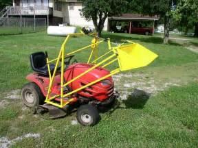 Homemade Garden Tractor Front End Loader Plans